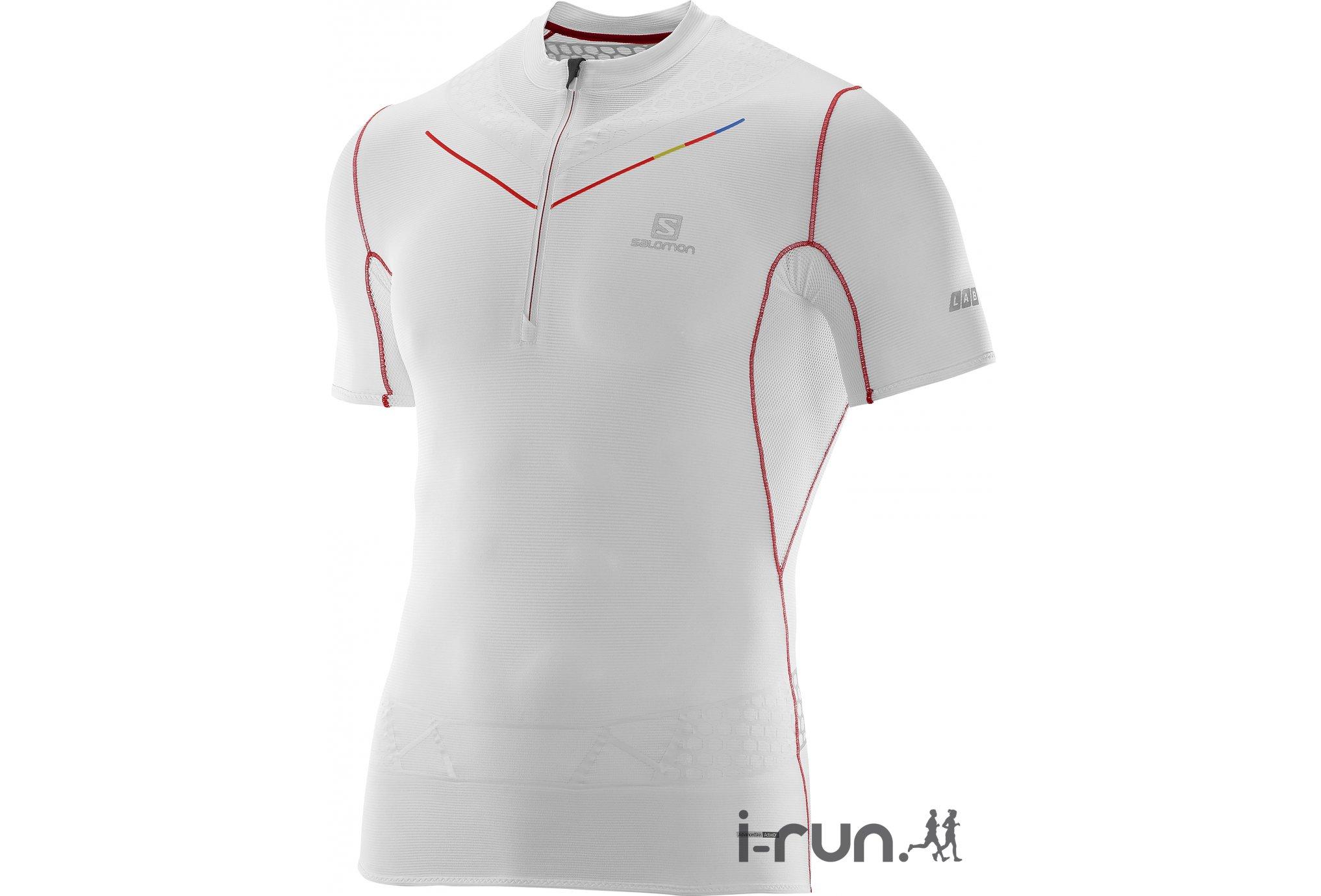 Salomon Tee-shirt Exo S-Lab Zip M vêtement running homme