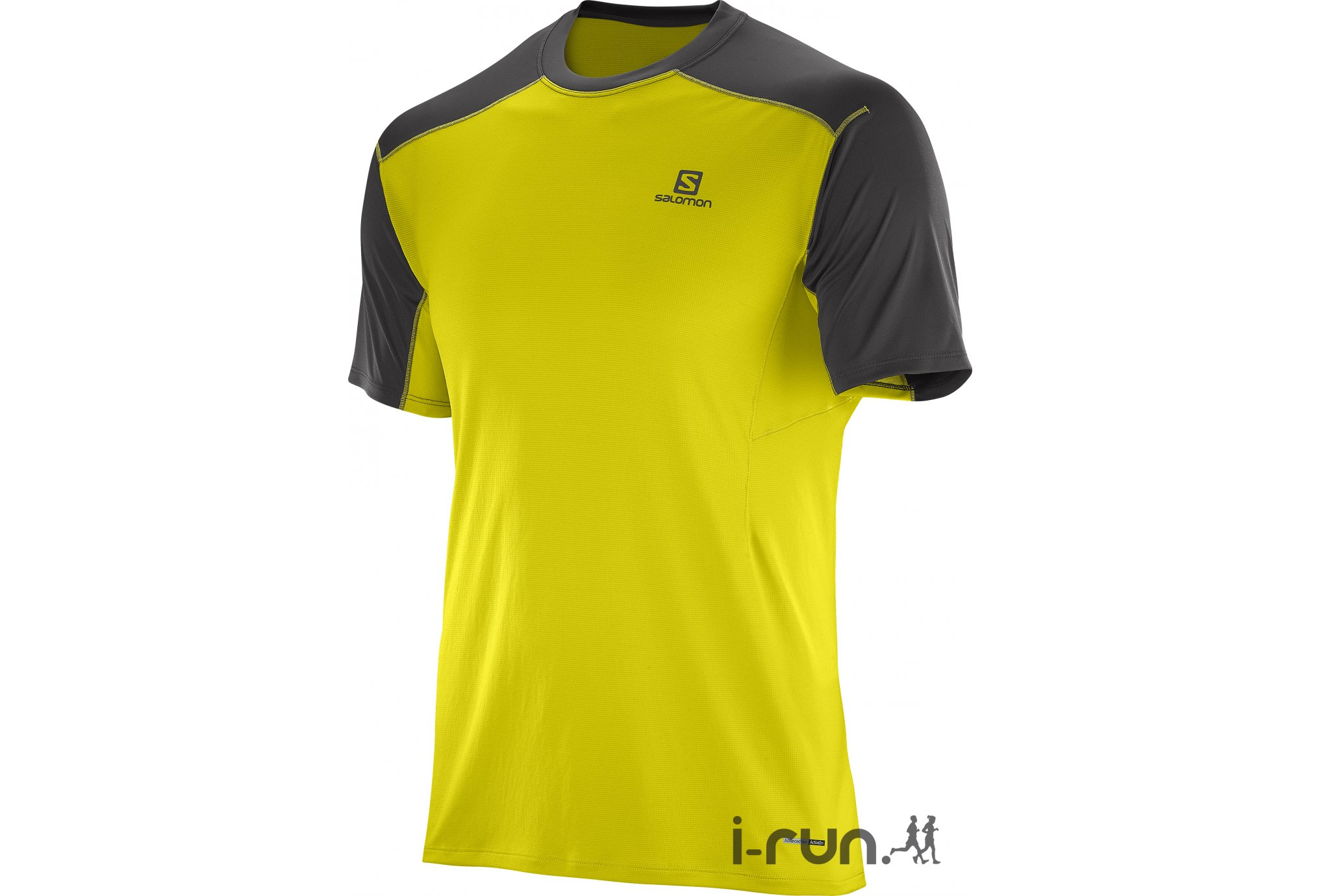 Salomon Tee-shirt Minim Evac M v�tement running homme