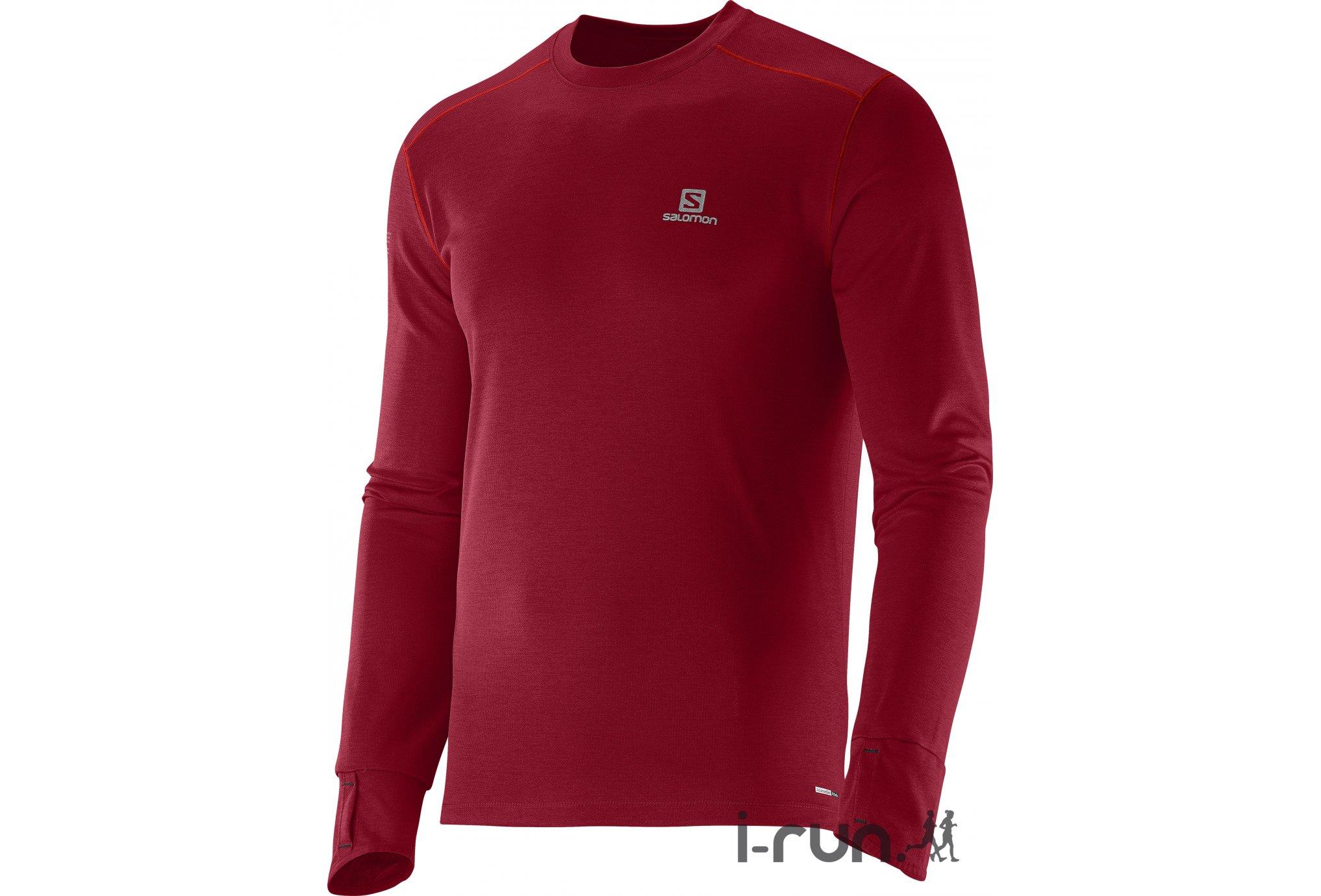 Salomon Tee-shirt Park M vêtement running homme