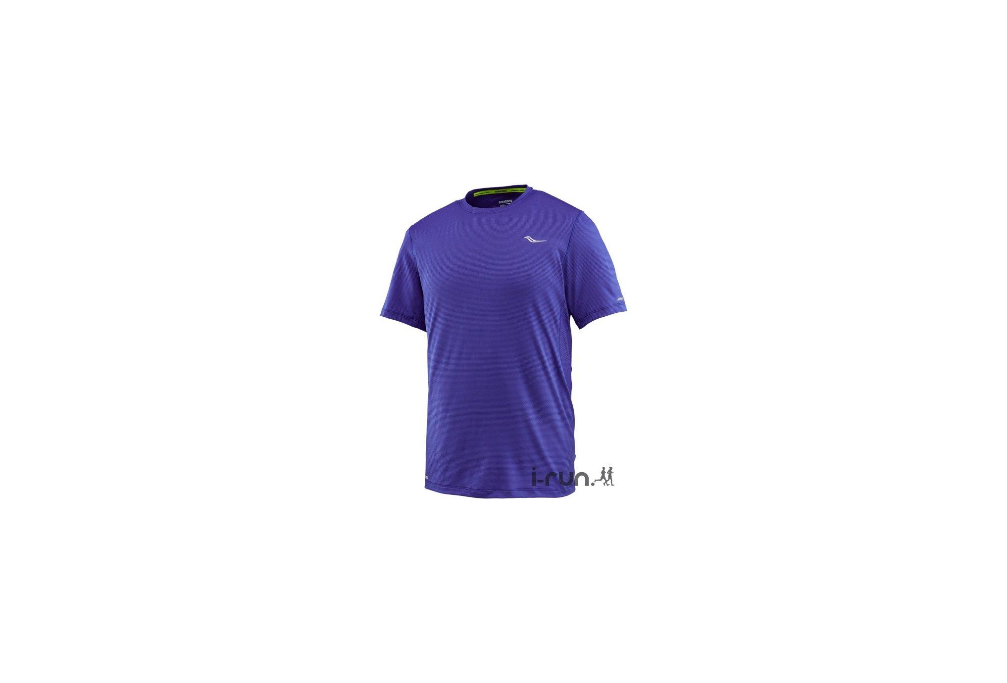 Saucony Tee-shirt Speed Of Lite M v�tement running homme