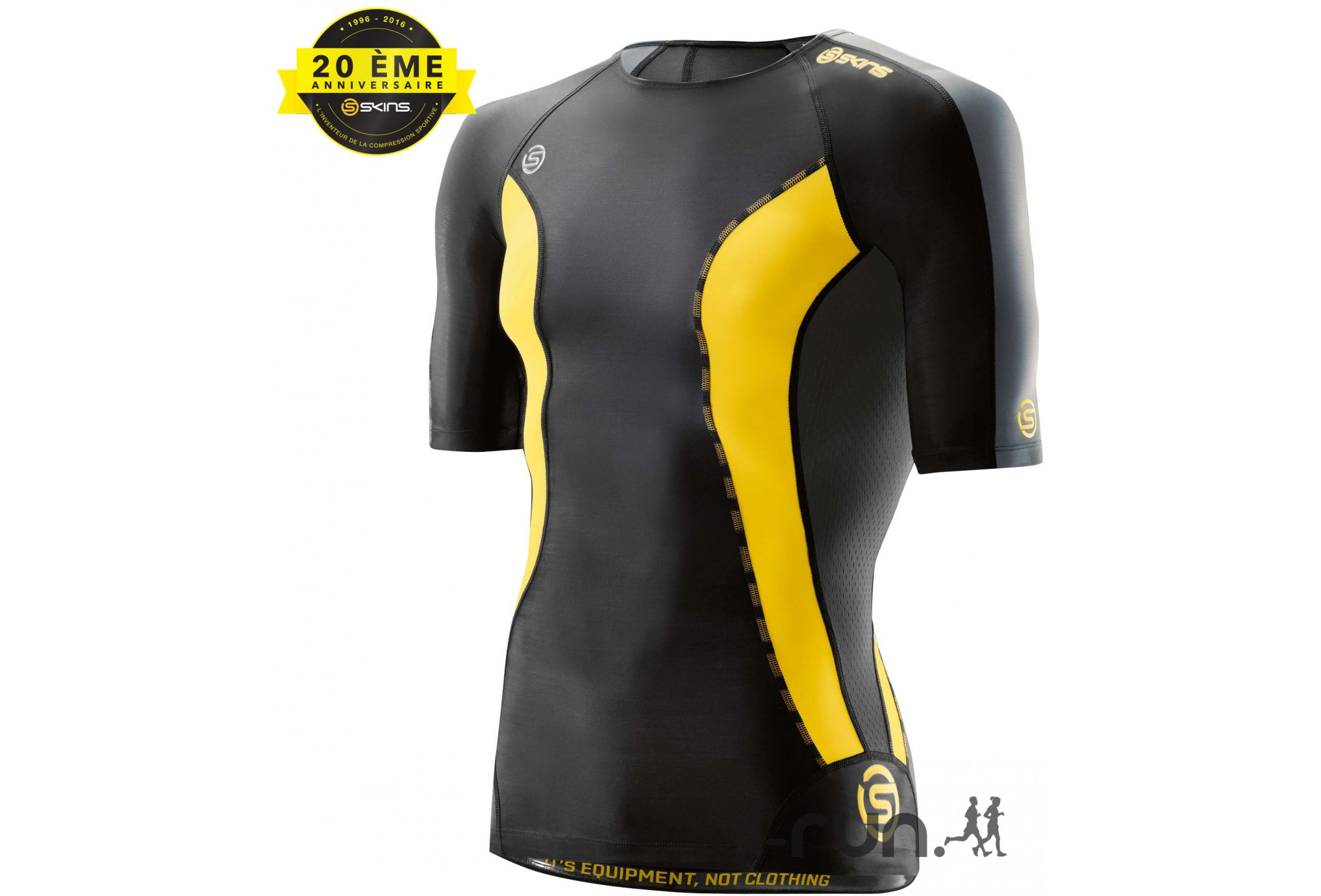 Skins Tee-shirt DNAmic M vêtement running homme