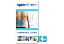 SpiderTech Lombaire - Pack de 5 tapes