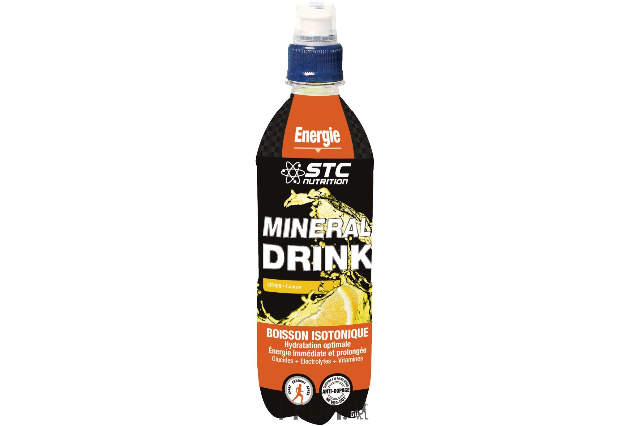 STC Nutrition Boisson Mineral Drink Citron Di�t�tique Boissons
