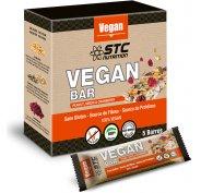 STC Nutrition Etui de 5 barres Vegan Bar