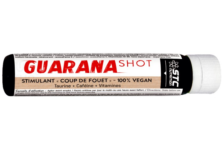 STC Nutrition Guarana Shot  25ml - 100% Vegan