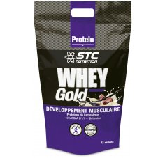 STC Nutrition Whey Gold Plus Protein - Chocolat 2.2 Kg
