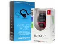 TomTom Pack Runner 3 Cardio-Music + Casque Plantronics - Small