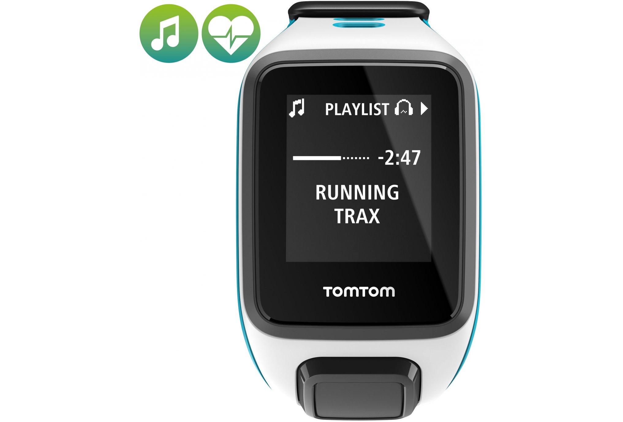Tomtom Runner 2 cardio + music - small cardio-gps