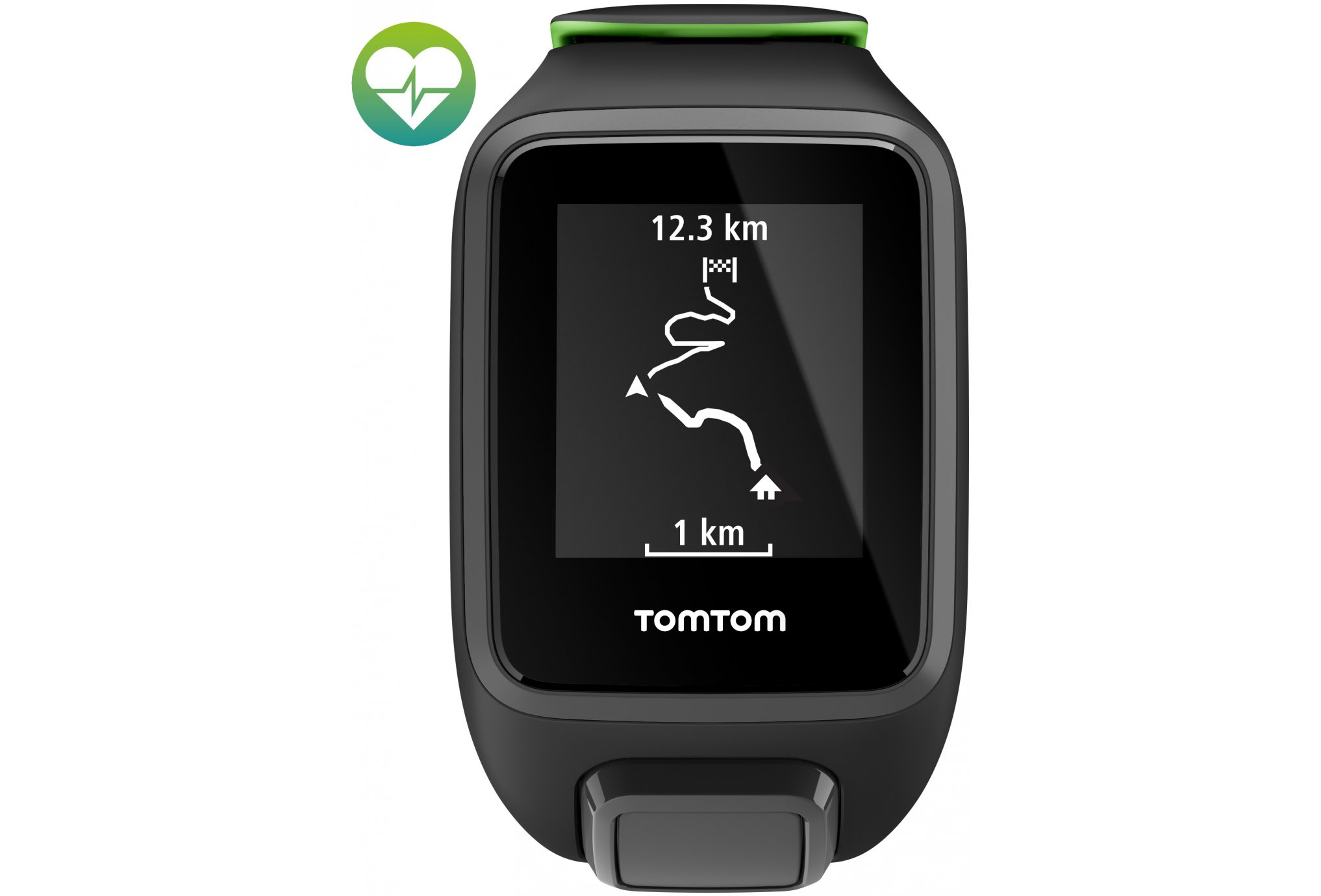 Tomtom Runner 3 Cardio - Large Cardio-Gps