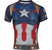 Under Armour Tee-shirt Compression Alter Ego Captain America M