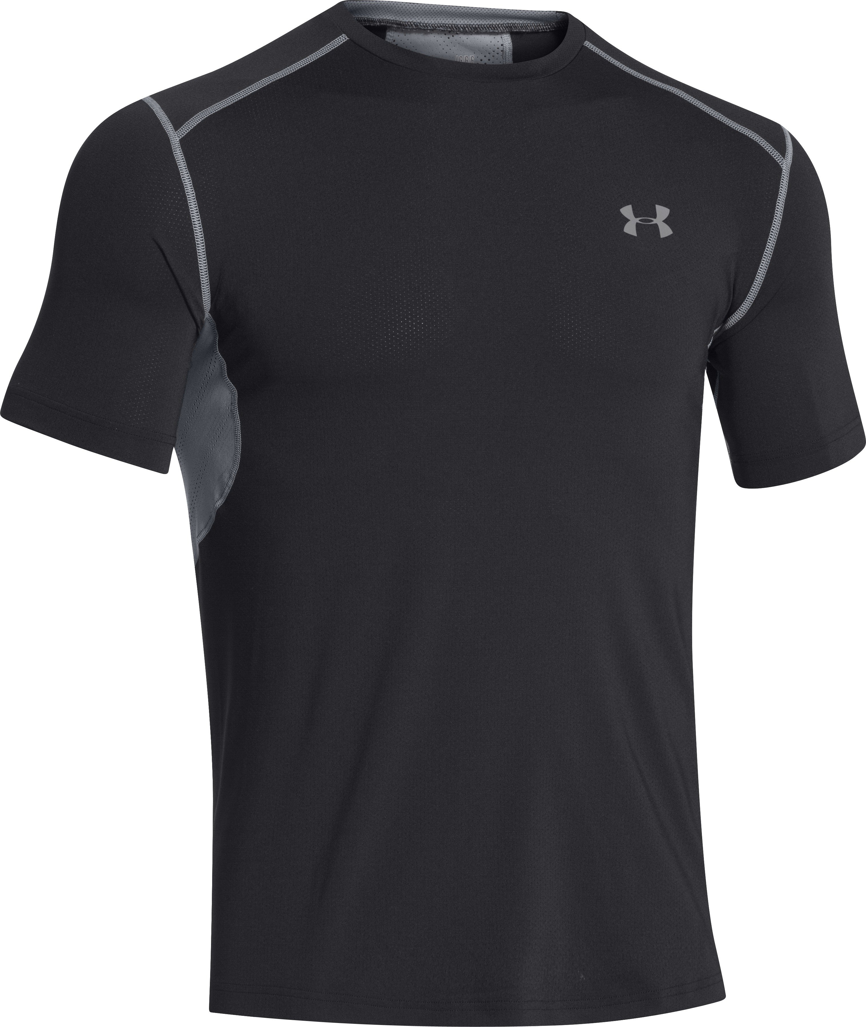 Under Armour Tee-shirt HeatGear ArmourVent Fitted M v�tement running homme