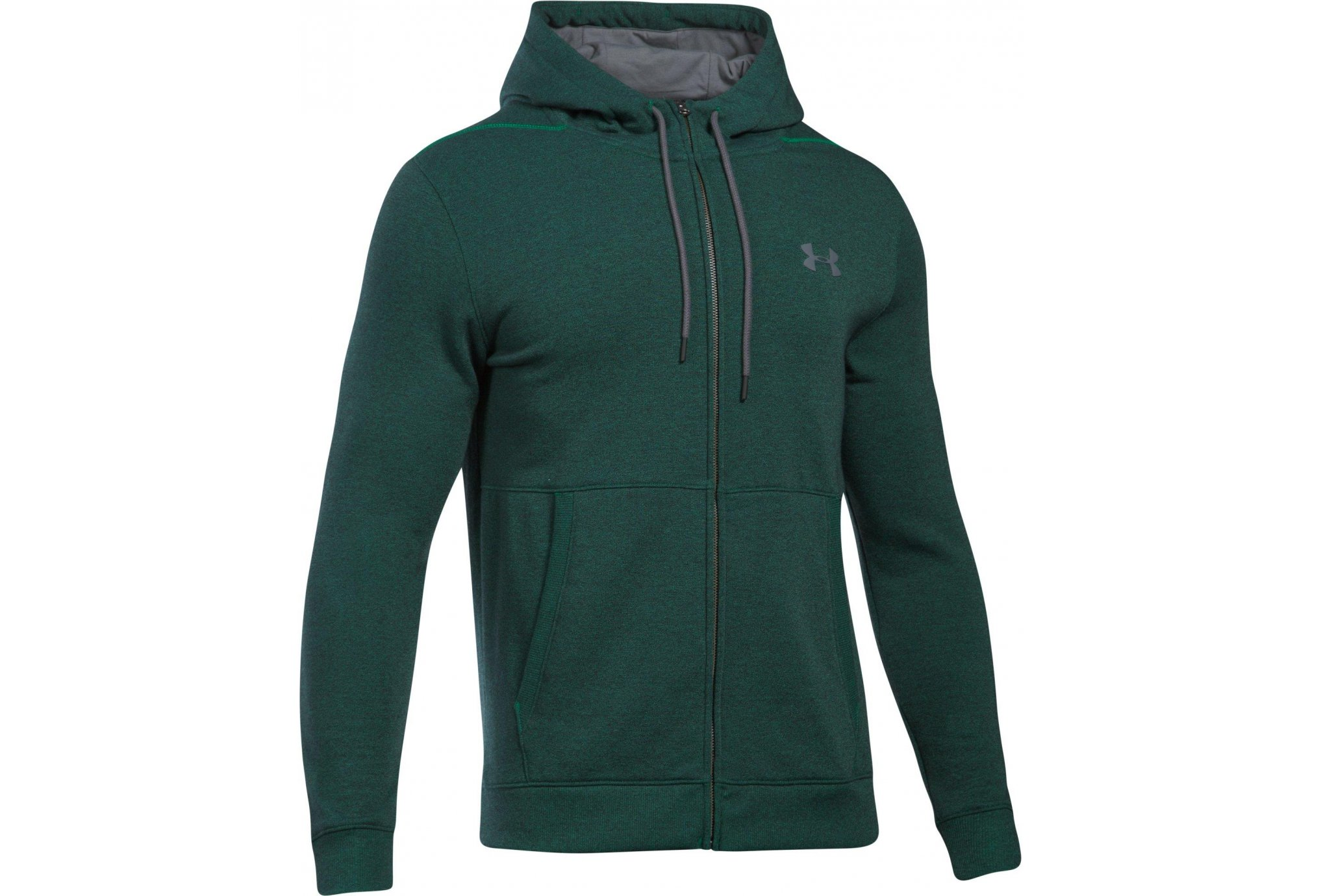 Under Armour Threadborne FZ Hoodie M Diététique Vêtements homme