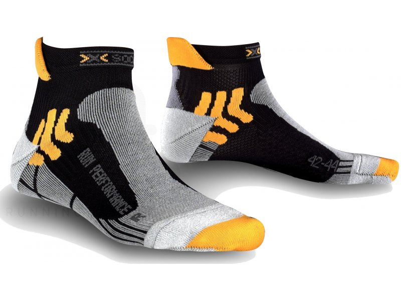 x socks run performance pas cher accessoires running chaussettes en promo. Black Bedroom Furniture Sets. Home Design Ideas