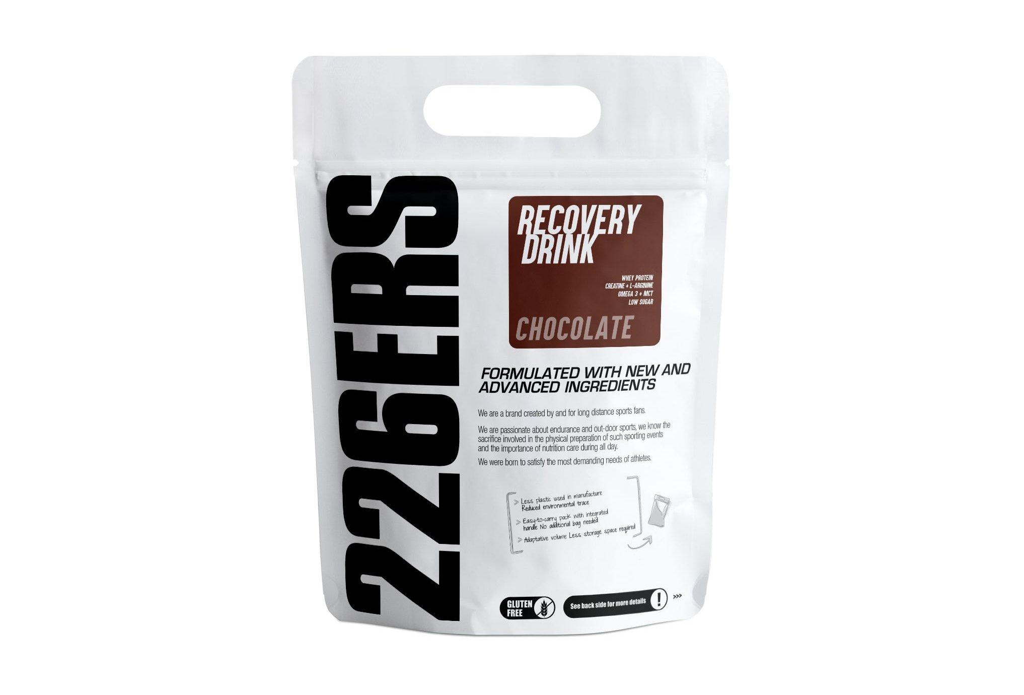 226ers Recovery Drink - Chocolat - 0.5kg Diététique Protéines / récupération