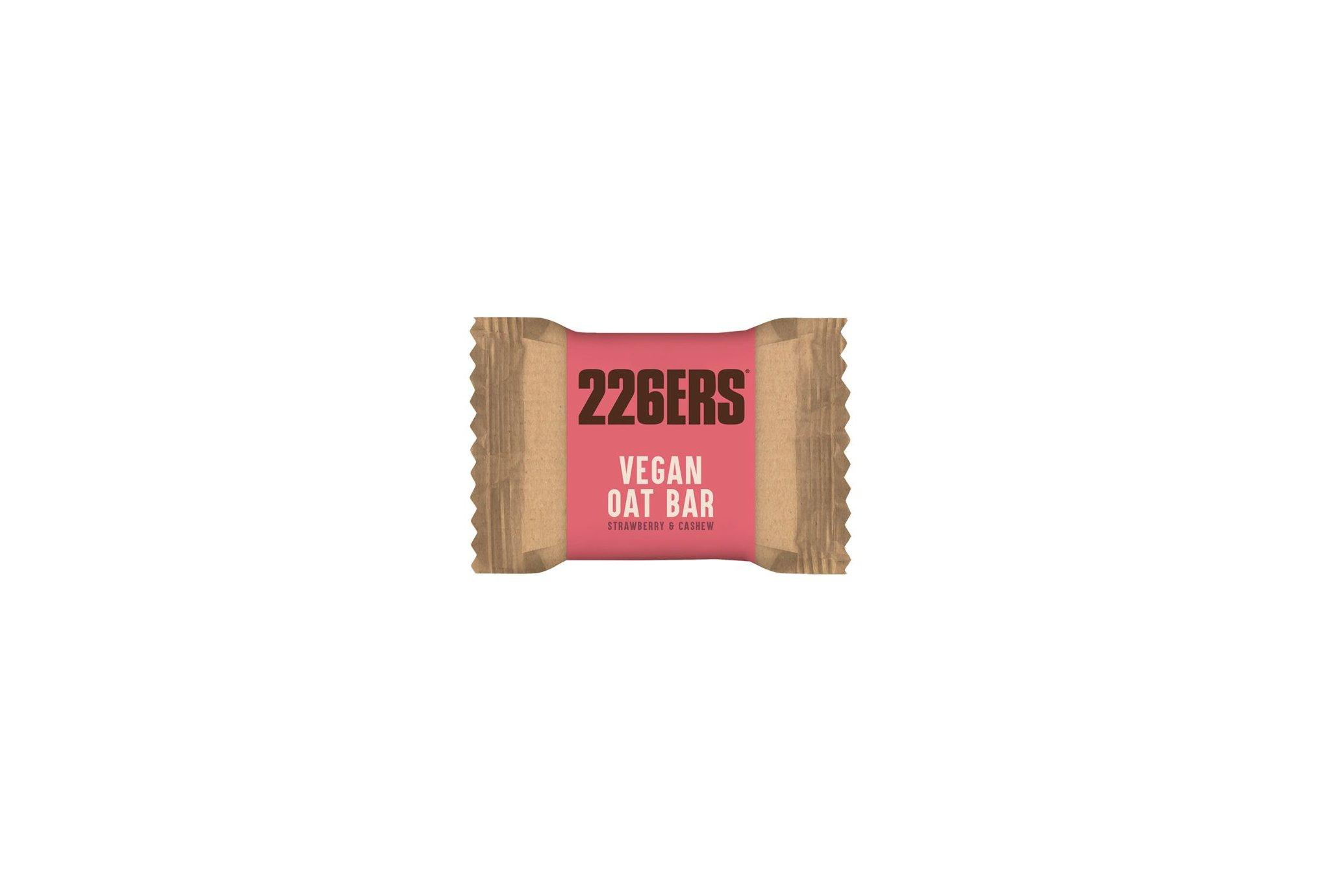 226ers Vegan OAT Bar - Fraise et noix de cajou Diététique Barres