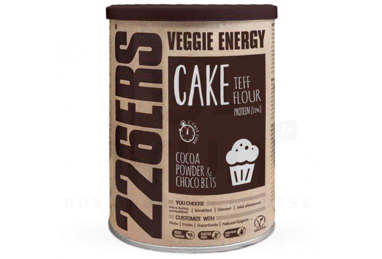 226ers Veggie Energy Cake 480 g - Farine de teff et morceaux de chocolat