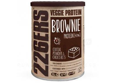226ers Veggie protein Brownie - Poudre de cacao et morceaux de chocolat - 420 g