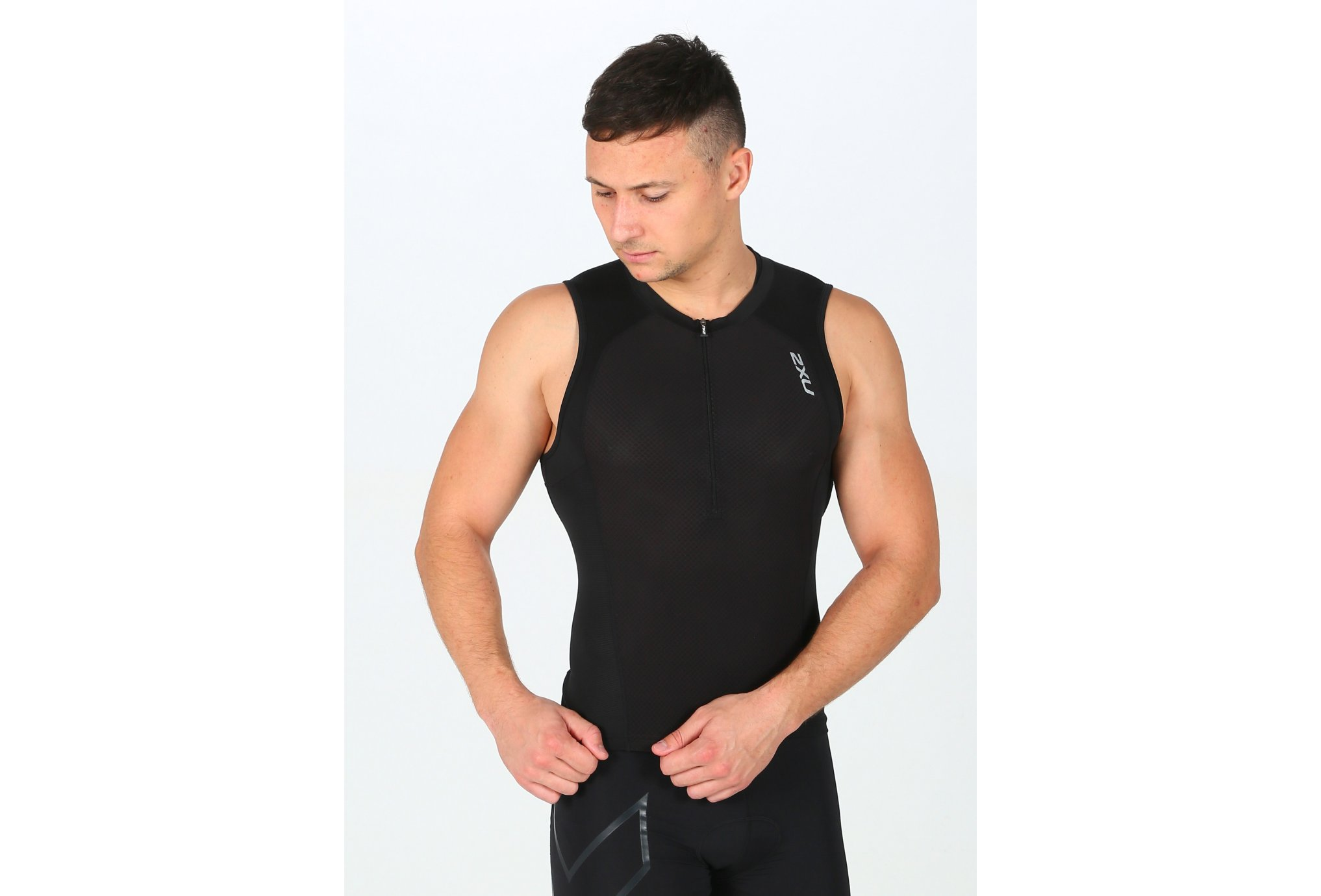 2xu Compression tri singlet m vêtement running homme
