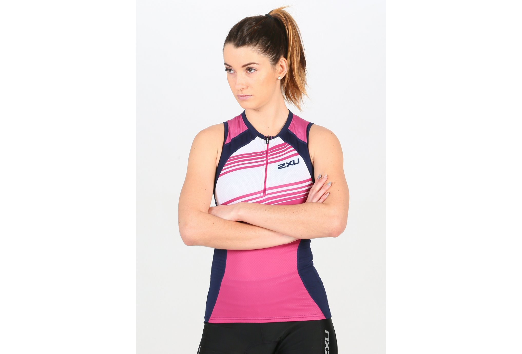 2XU Compression Tri Singlet W vêtement running femme