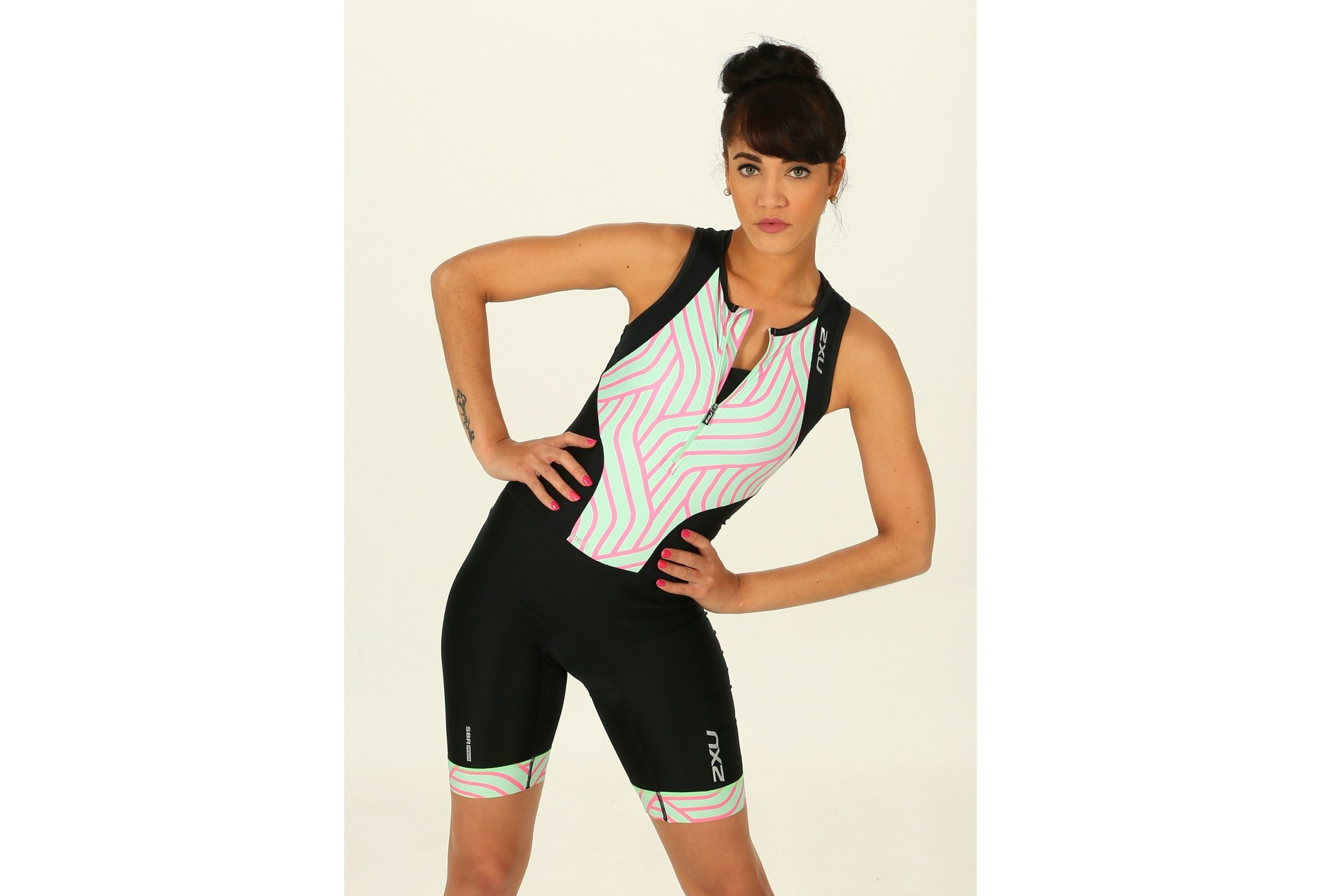 2XU Perform Front Zip Trisuit W vêtement running femme