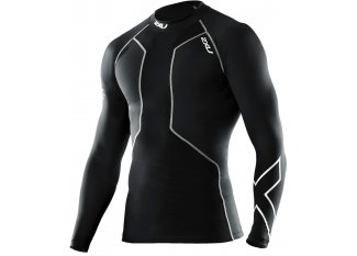 2XU Camiseta L/S Refresh Swim Recovery Compression M