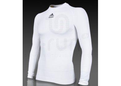 Adidas Adidas TechFit Blanc ml pas cher V ê militaires Homme corriendo