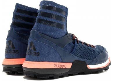 Détails sur Adidas Adizero XT Boost Femmes Taille 11 Trail Running Chaussure Bleu Rose
