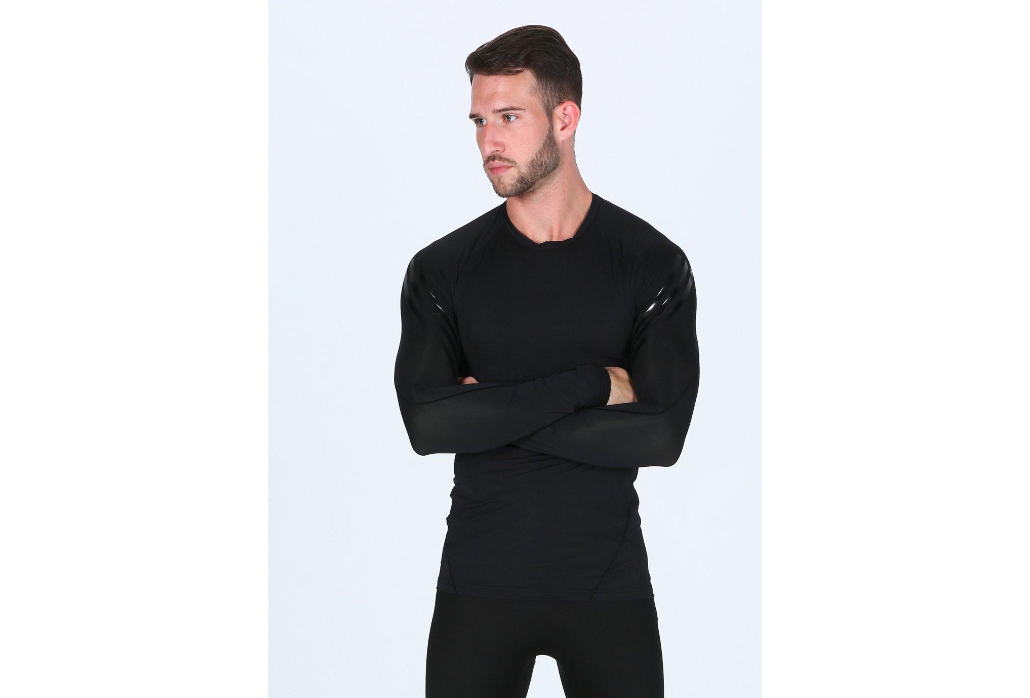 Adidas Alphaskin tech 3-Stripes m vêtement running homme