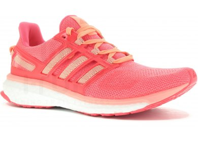 Chaussures Adidas Energy Boost orange femme
