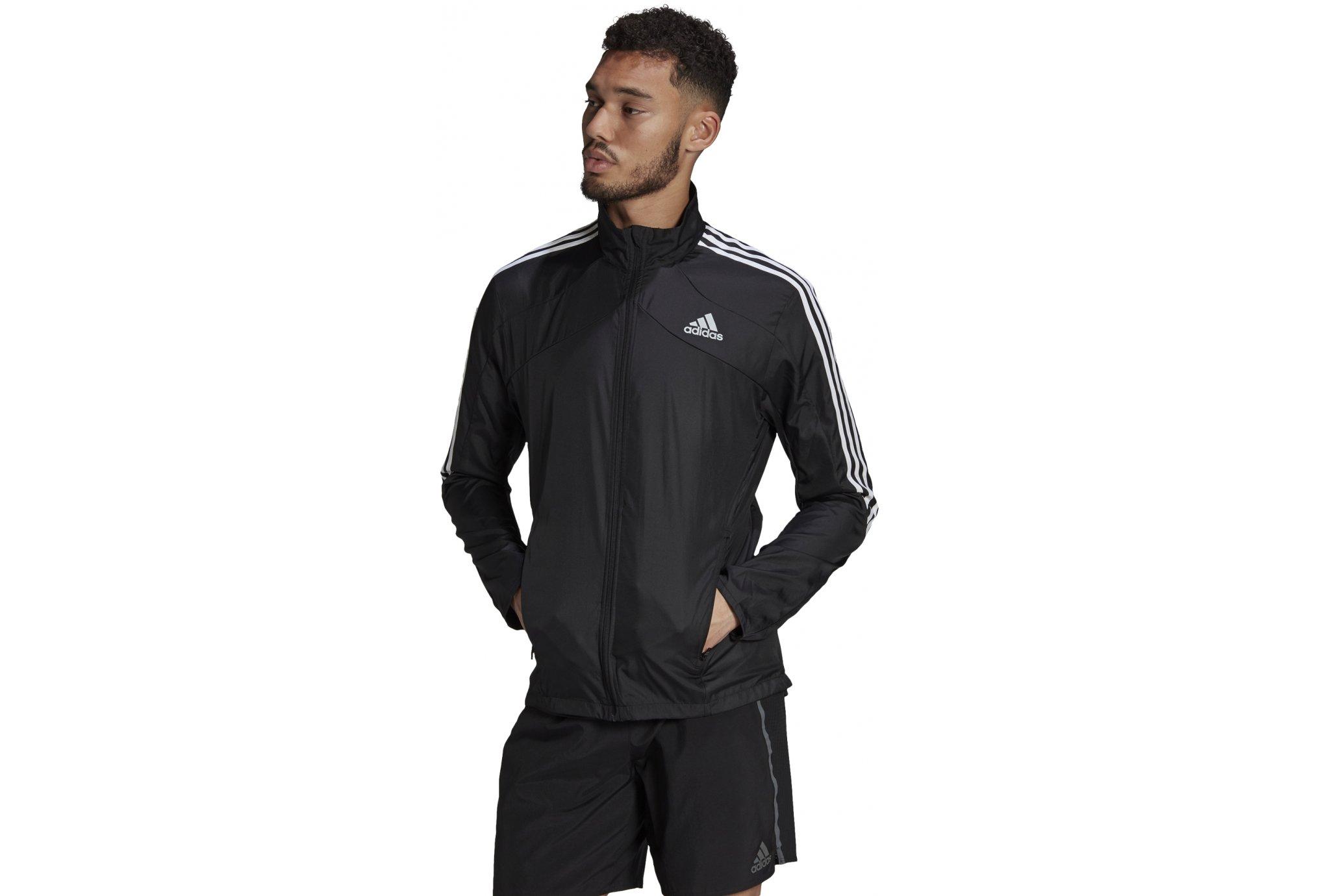 adidas Marathon 3-Stripes Primegreen M vêtement running homme