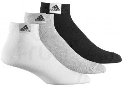 avant-garde de l'époque une grande variété de modèles choisir le plus récent adidas Pack 3 Paires Chaussettes Basses Fines