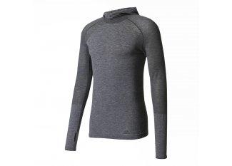 adidas Camiseta manga larga Primeknit Wool Hood