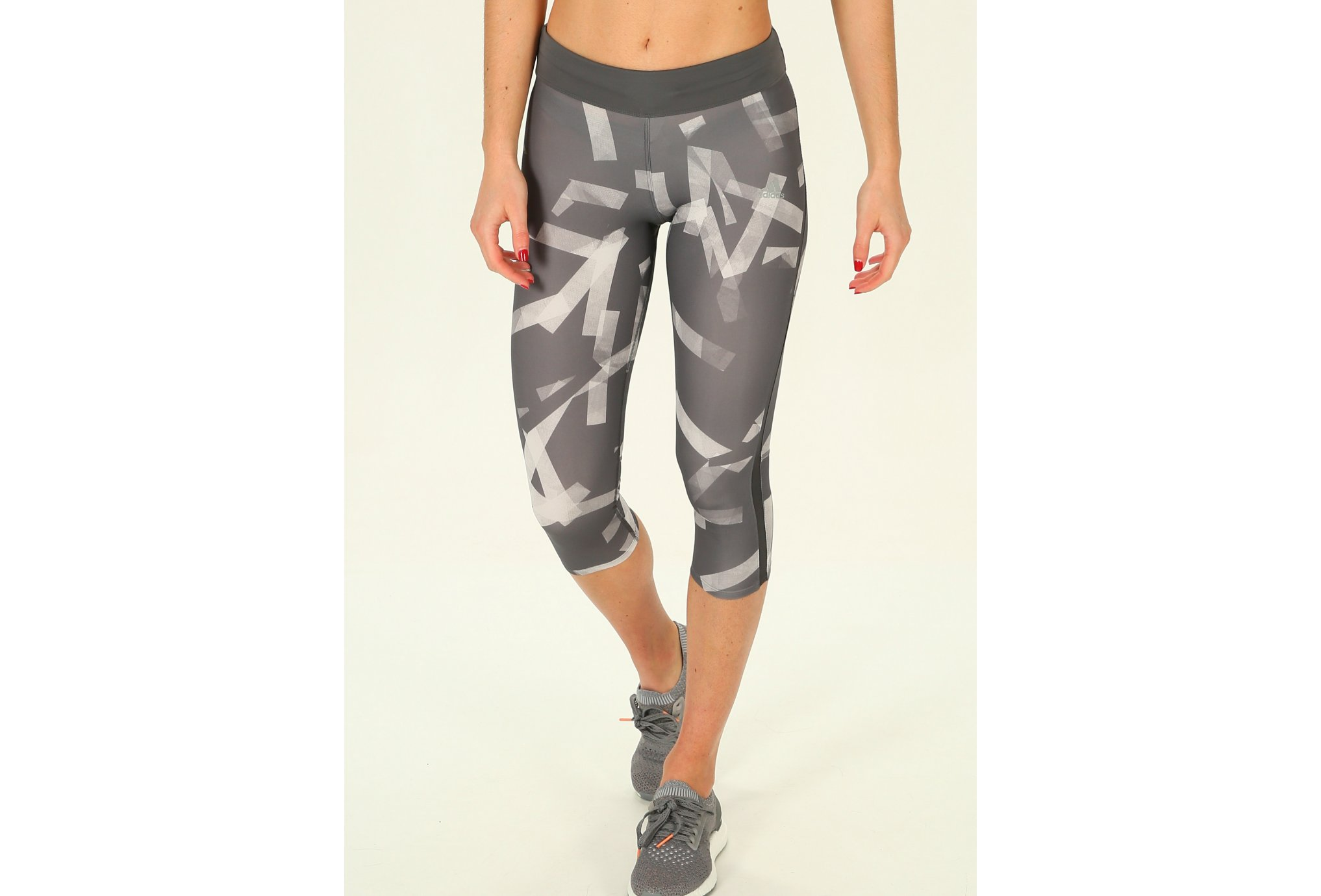 adidas Mallas 3/4 Reponse Tight Q3 vêtement running femme