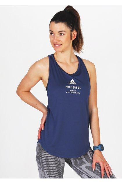 adidas camiseta de tirantes Run For The Oceans Graphic Primeblue