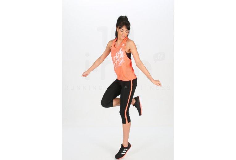 cupón alineación Inspirar  adidas camiseta de tirantes Speed en promoción   Mujer Ropa Camisetas de  tirantes adidas
