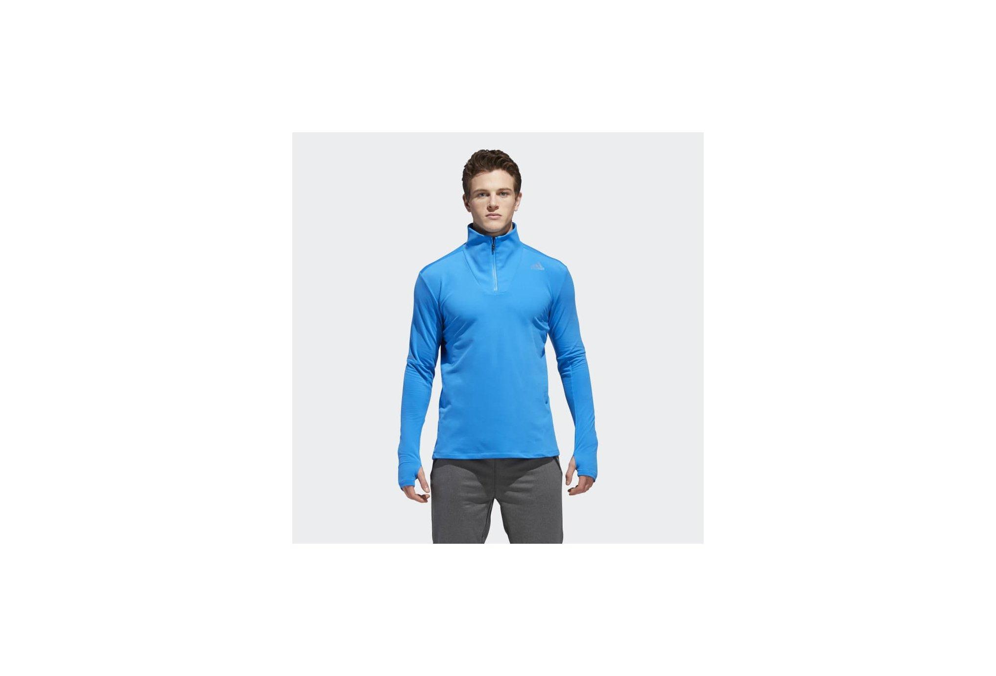 Adidas Supernova 1/4 zip m vêtement running homme