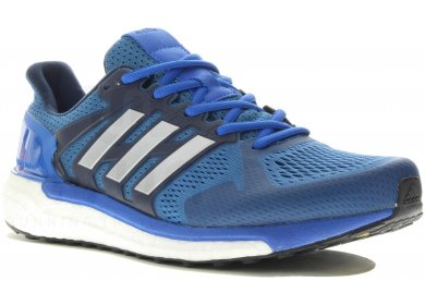adidas Baskets Supernova Sequence 7 Boost Stability Running Solar Homme Blanc