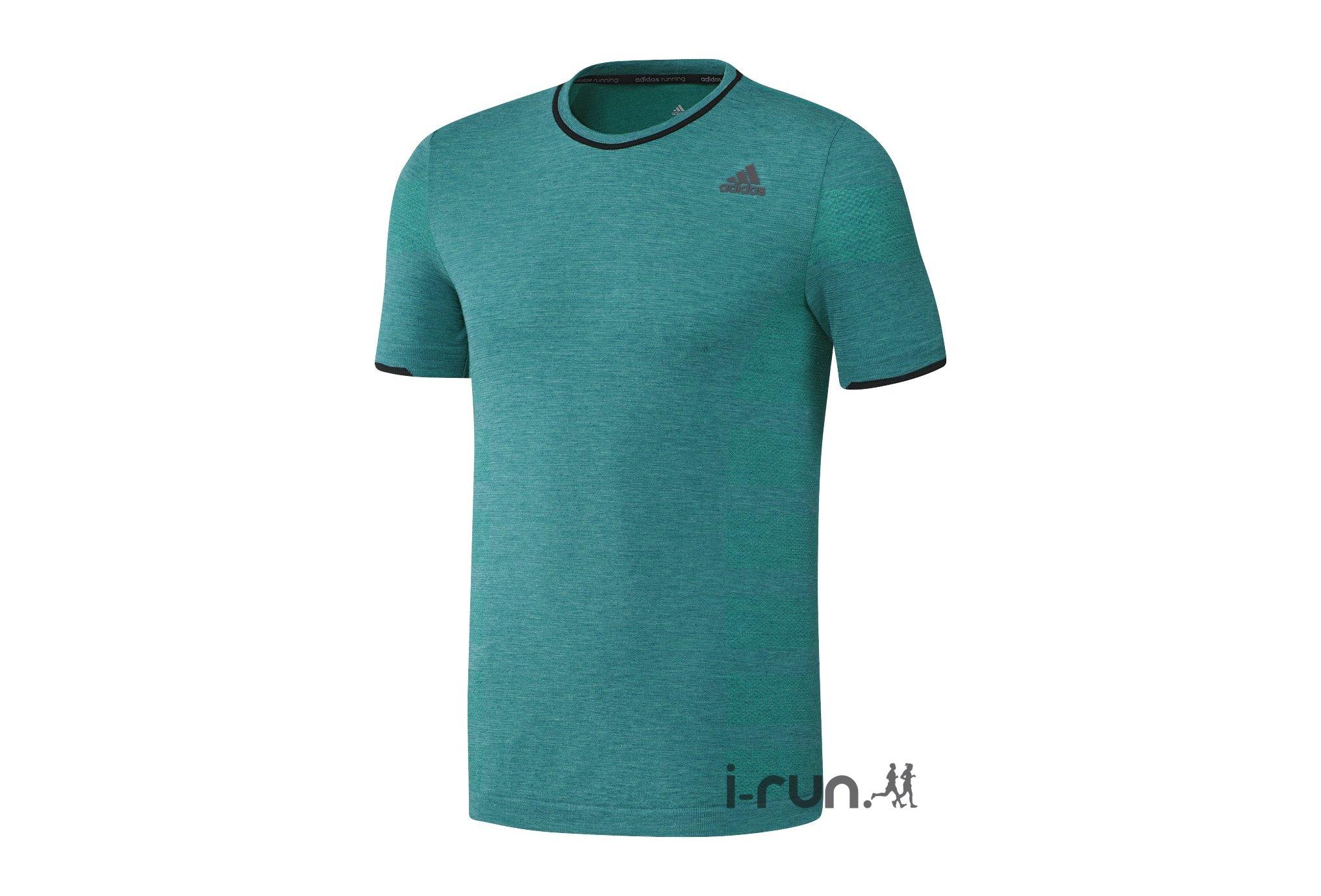adidas Tee-shirt adistar Primeknit M vêtement running homme