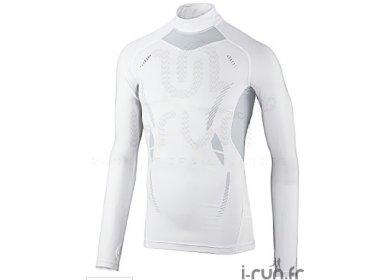 ecd19687666 adidas Tee-shirt de compression Techfit L S col haut homme pas cher