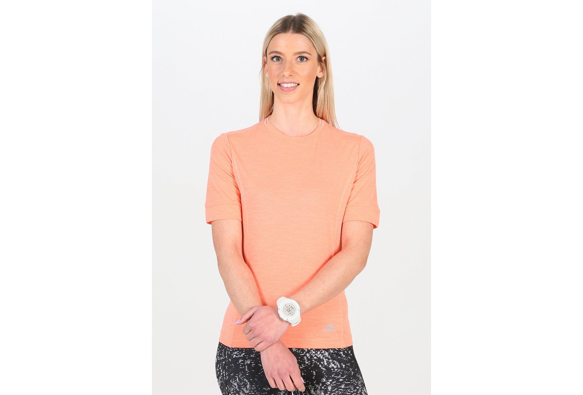adidas Tee-Shirt Supernova W Diététique Vêtements femme