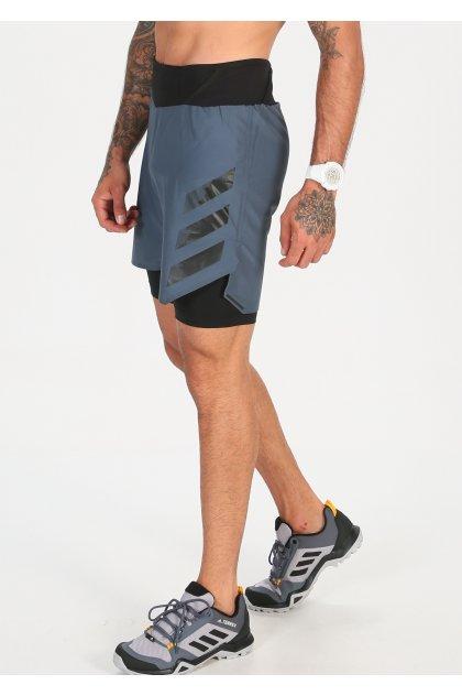 adidas pantalón corto Terrex Agravic 2 en 1