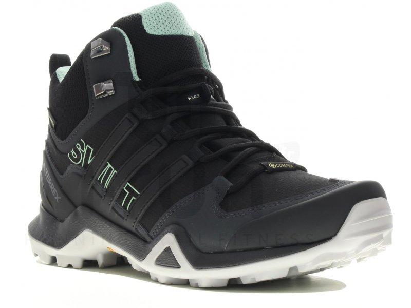 adidas Terrex Swift R2 Mid Gore Tex W Chaussures running femme Randonnée