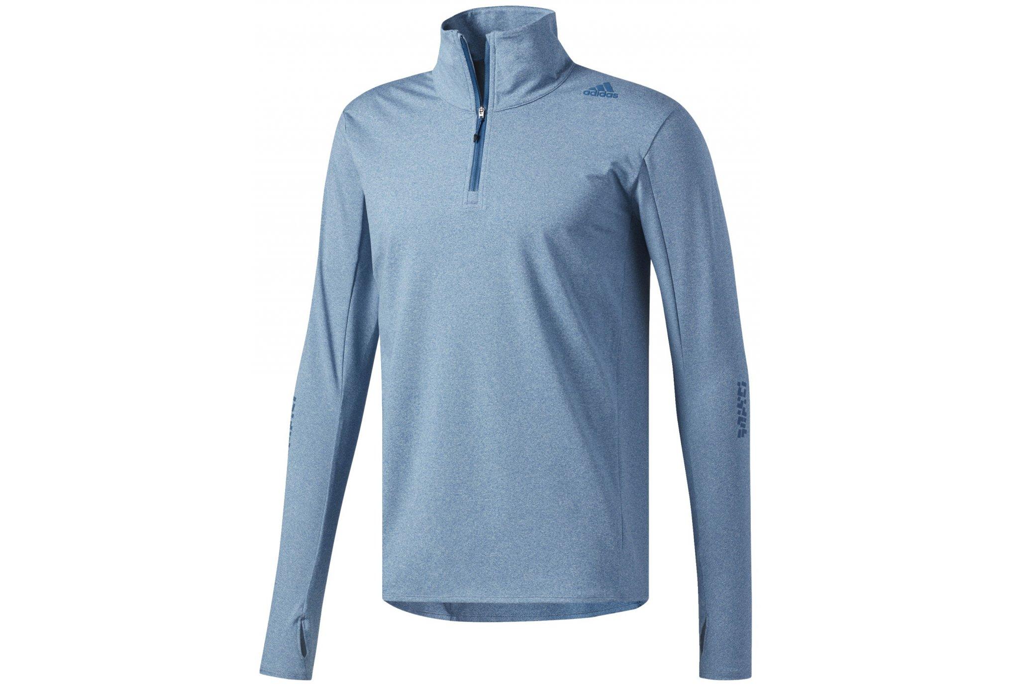 Adidas Supernova 1/2 zip m vêtement running homme
