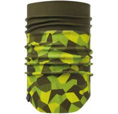 Buff Windproof Neckwarmer Block Camo Green