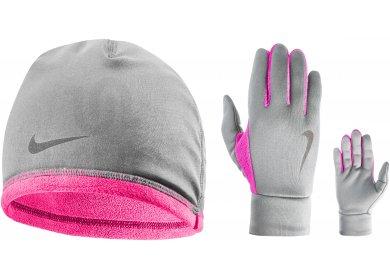 Nike Pack bonnet + gants Thermal W - Accessoires running Bonnets ... d02cacc51e5