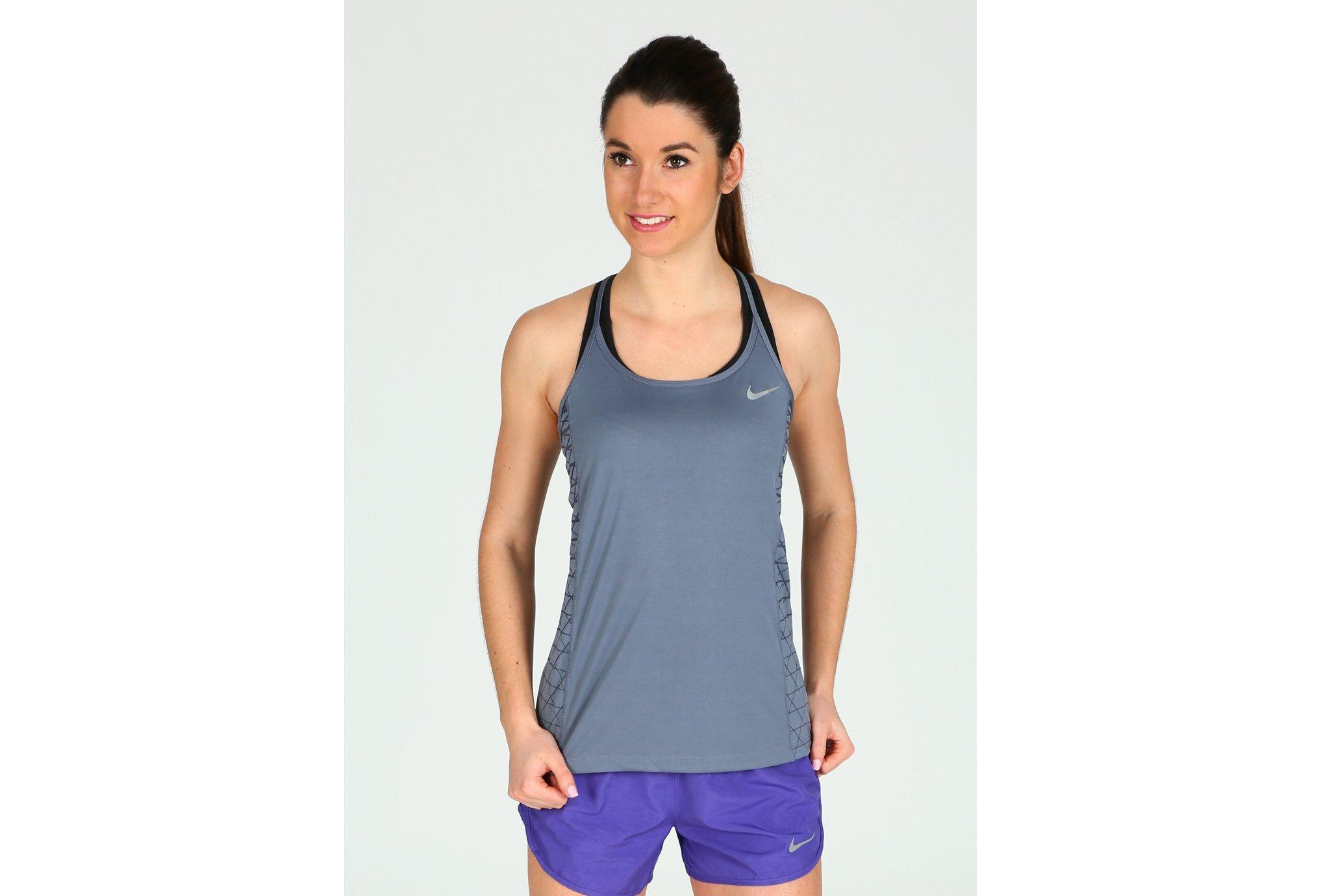 Nike Dry Miler Running Print W vêtement running femme