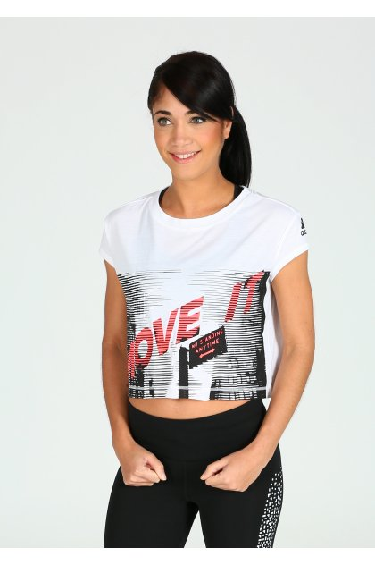 adidas Camiseta manga corta Dance
