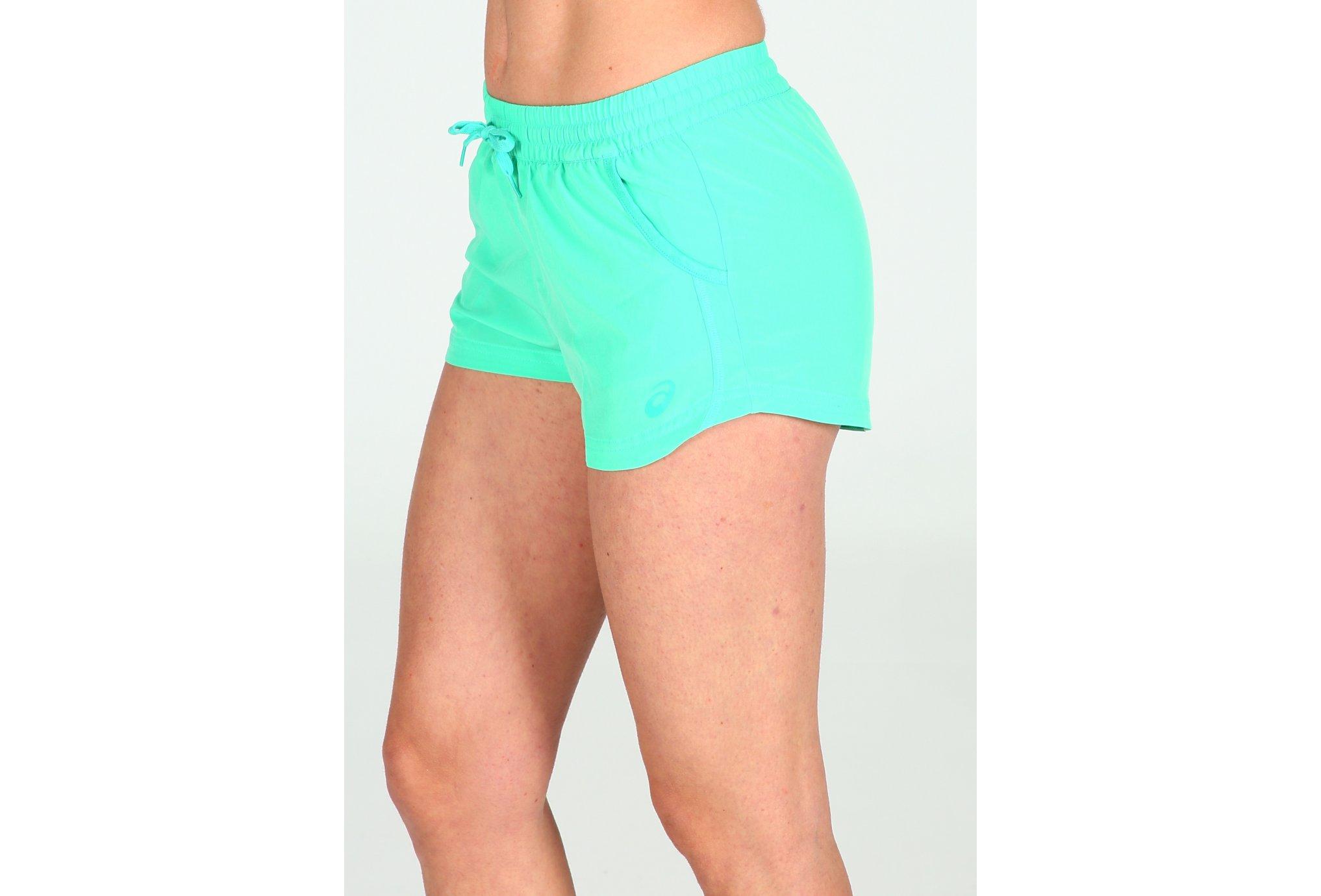Asics Short 2 in 1 Woven W vêtement running femme