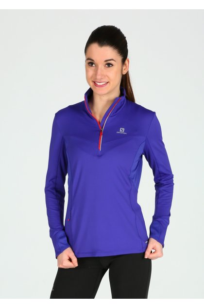 Salomon Maillot Trail Runner Warm MID