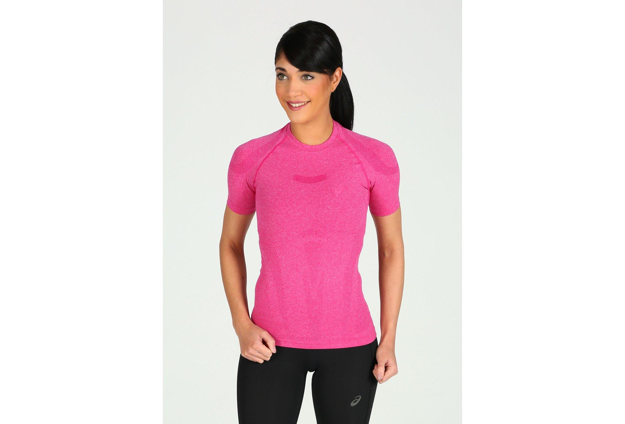 Asics Tee-Shirt Top W vêtement running femme